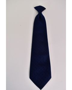 JCPenney Towncraft Boys' Blue Clip-On Tie W/Diamond Pattern Accessories Size 5