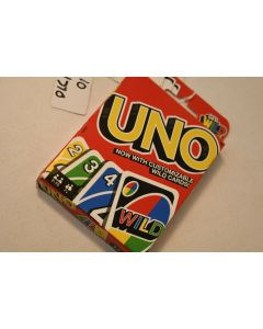 Mattel Get Wild 4 UNO Card Game Customizable Wild Cards 2-10 Players Ages 7+